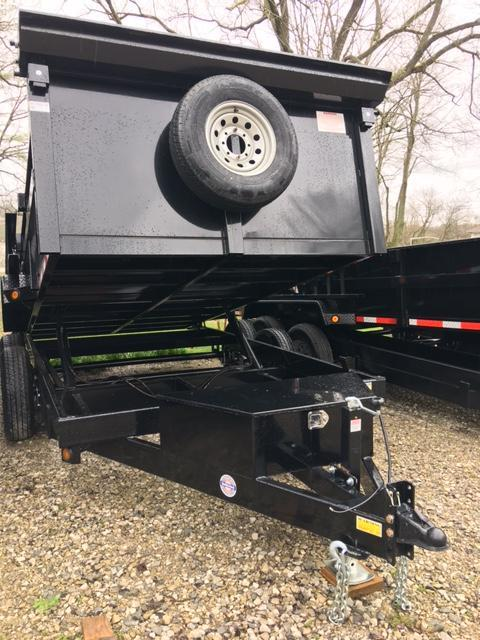 "2021 83"" x 14' DUMP TRAILER W/SPREADER GATE"