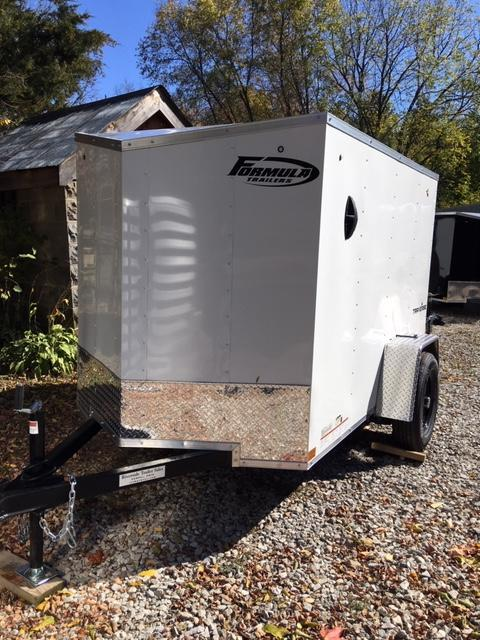 2021 FORMULA 5 X 8 ENCLOSED CARGO TRAILER