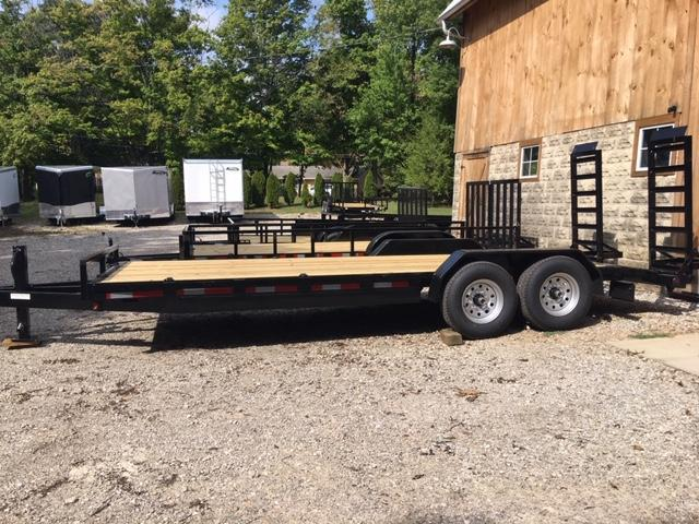 2021 Quality Steel and Aluminum 8320 Equipment Trailer