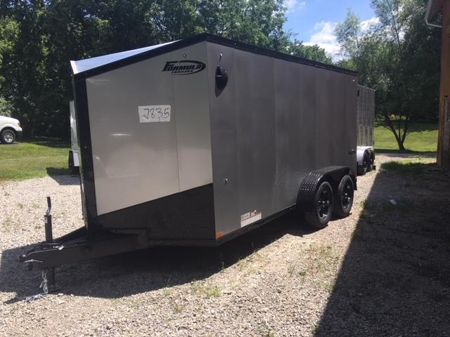 2020 Formula TrailerS TRIUMPH 7' X 14' Enclosed Cargo Trailer