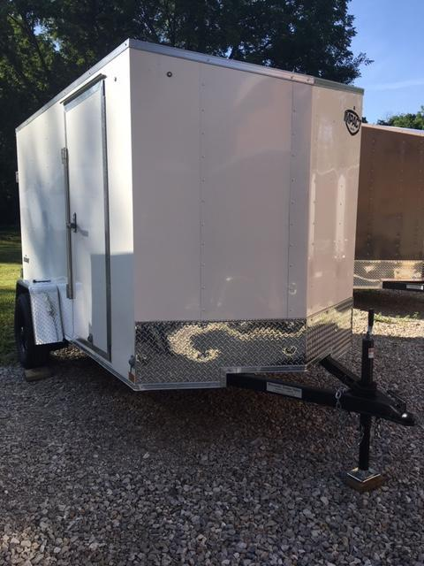 6' x 10' ENCLOSED CARGO TRAILER