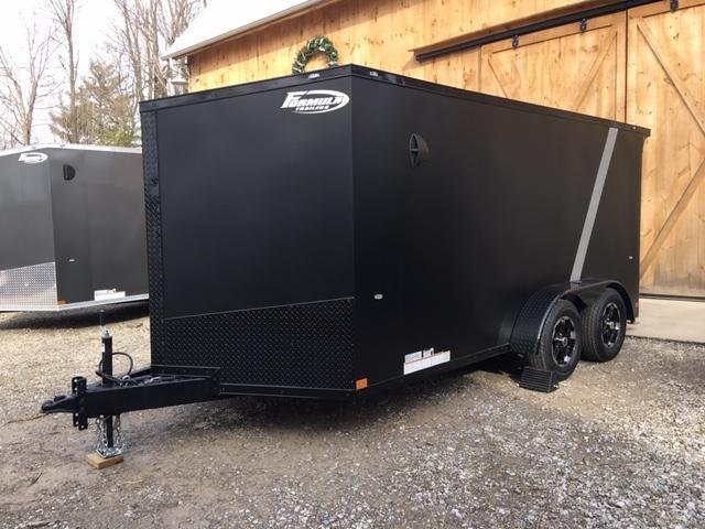 2021 FORMULA SPECIAL BLACK OUT ATV MOTORCYCLE TRAILER 7 X 14