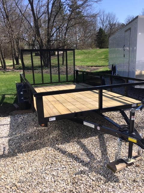 "2021 Quality Steel Utility Trailer 82"" X 12'"
