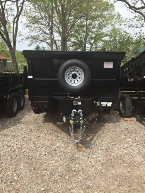 2021 QUALITY STEEL PRODUCTS 83 X 12 DUMP TRAILER