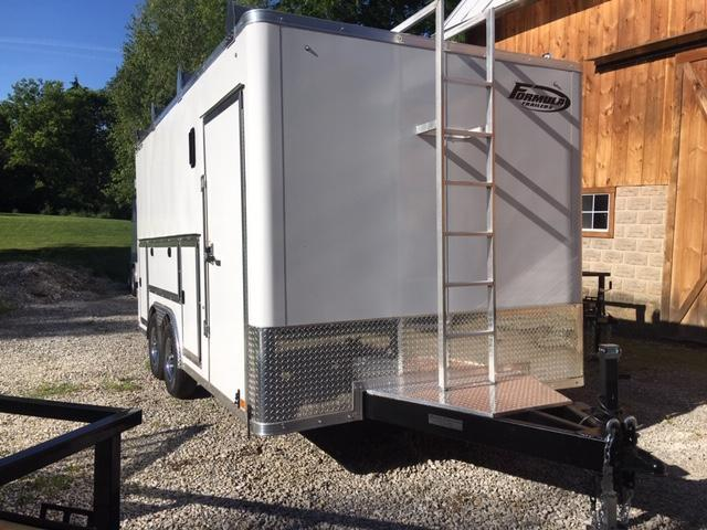 """2022 CONTRACTOR DLX TOOL CARGO / FLAT TOP / FLAT FRONT 8.5' X 18' + 6"""""""