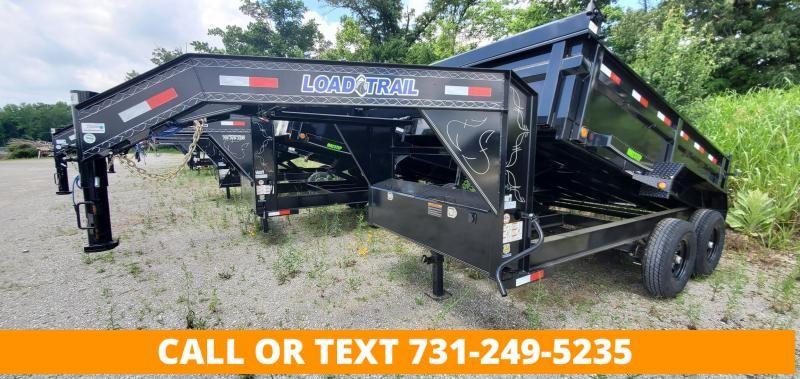 "2021 Load Trail 83"" x 12' Gooseneck Dump Trailer"