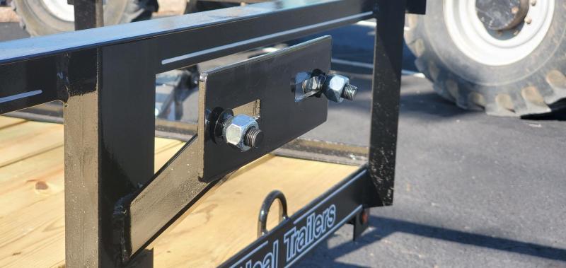 "2021 O'Neal 6'4"" x 14' Tandem Axle Utility Trailer"