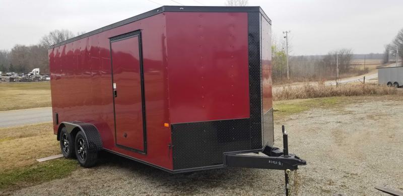 2021 Rock Solid Cargo 7' x 16' Enclosed Cargo Trailer
