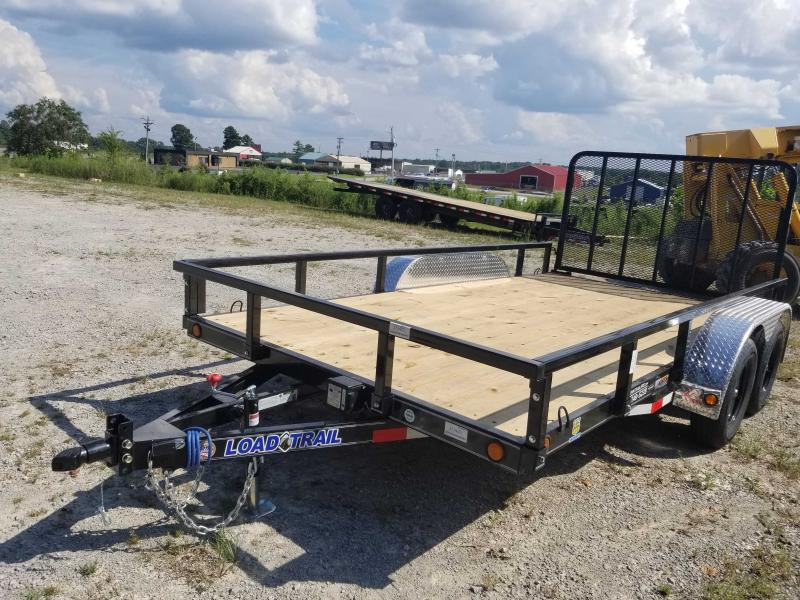 "2021 Load Trail 83"" x 14' Tandem Utility Trailer"