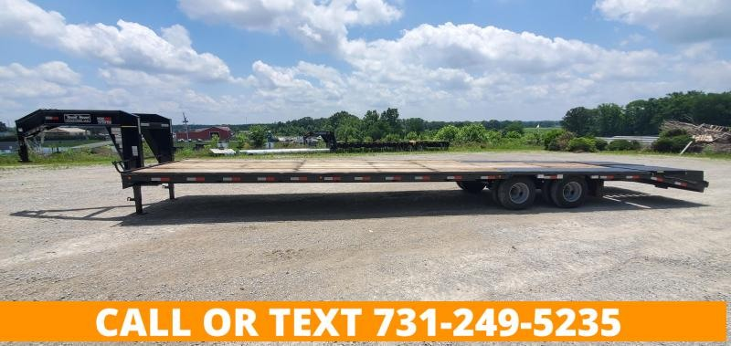 """2021 Round House Industries 102"""" x 40' Gooseneck Flatbed Trailer With 2-12K Axles"""