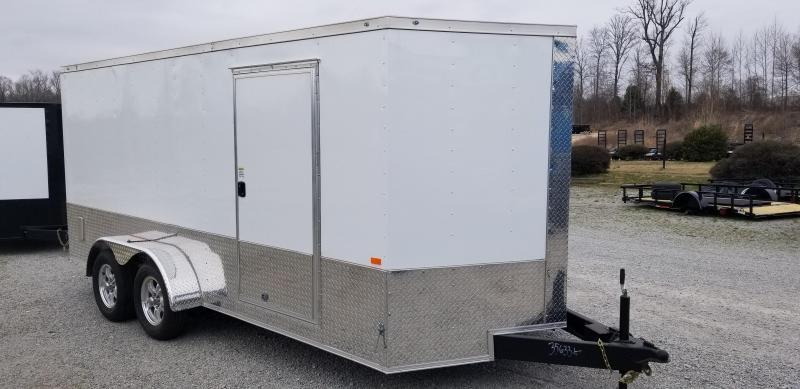 2021 Rock Solid Cargo 7' x 16 Enclosed Cargo Trailer