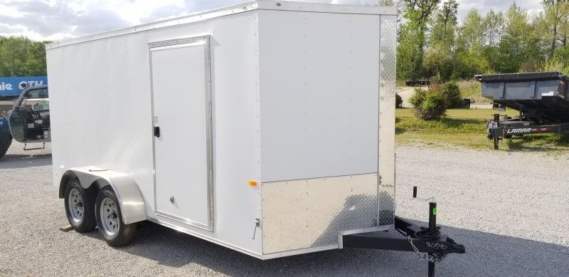 2021 Rock Solid Cargo 7' X 14' Enclosed Cargo Trailer