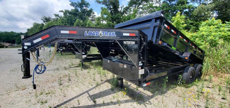 "2021 Load Trail 83"" x 14' Gooseneck Dump Trailer"