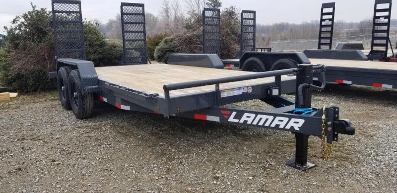"2021 Lamar Trailers 83"" x 16' Equipment Trailer"