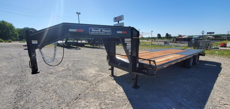 "2021 Round House 102"" x 25' Flatbed Trailer"