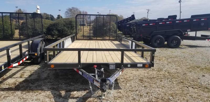"2021 Load Trail 83"" x 16' Utility Trailer"