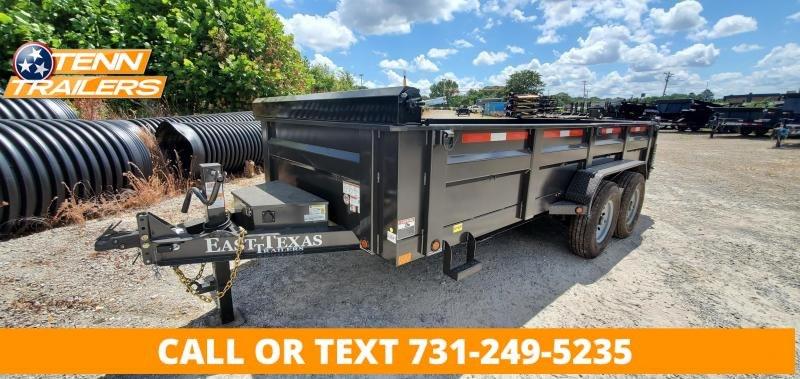 """2021 East Texas 83""""x14' Dump Trailer"""