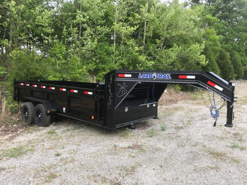 "2020 Load Trail 83"" x 16' 24"" Sides Dump Trailer"