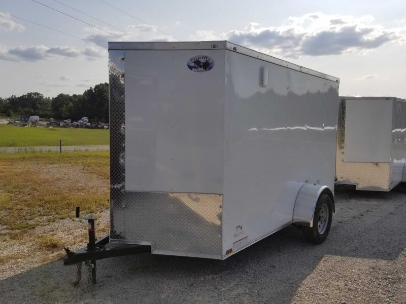 2020 Quality Cargo 6' x 10' Enclosed Cargo Trailer