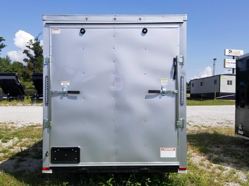2020 Quality Cargo 6' x 12' Tandem Enclosed Cargo Trailer