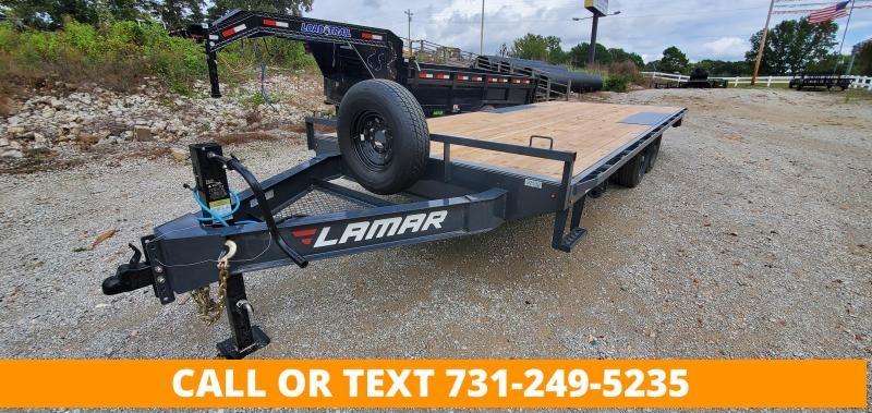 "2021 Lamar Trailers 102"" x 20' Deckover Equipment Trailer"