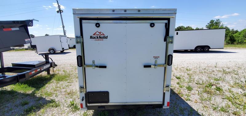 2021 Rock Solid Cargo 5' x 10' Enclosed Cargo Trailer
