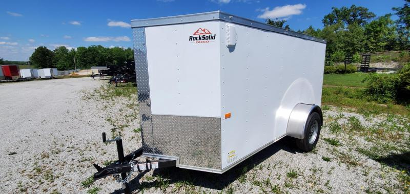 2021 Rock Solid Cargo 5' x 10' Enclosed Cargo Trailer