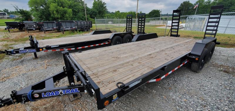 """2021 Load Trail 83"""" x 20' Equipment Trailer With Standard 16"""" Wide Ramps"""
