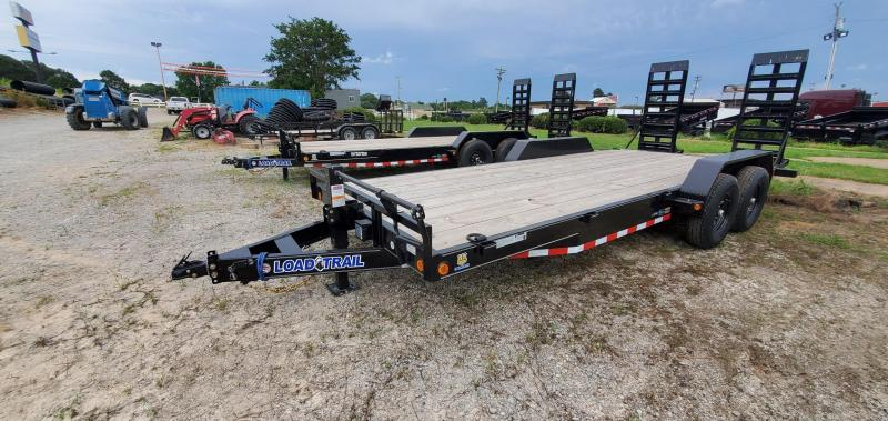 """2021 Load Trail 83"""" x 20' Equipment Trailer with 24"""" WIde Ramps"""