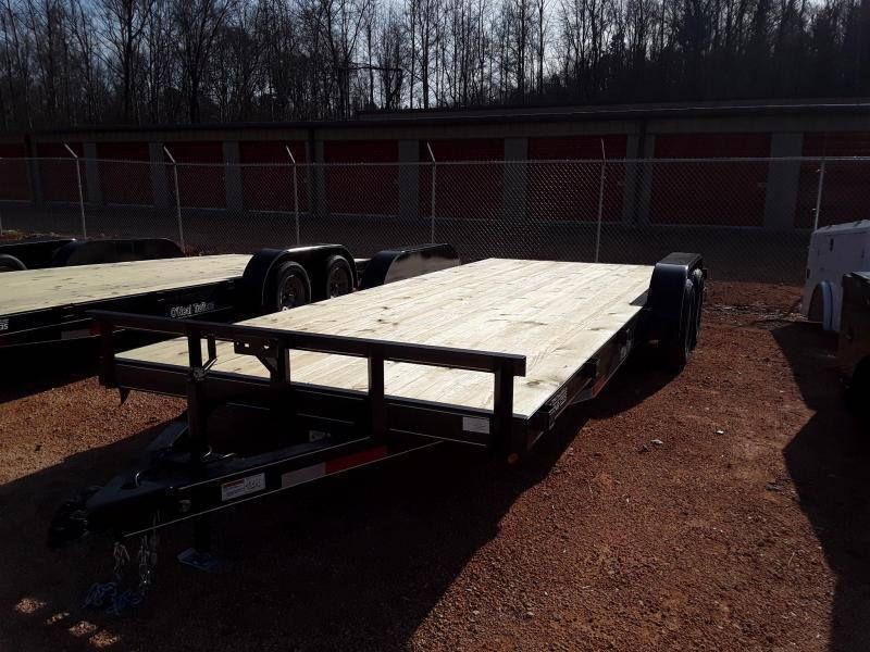 "2021 O Neal 6'10"" X 20' Equipment Trailer"