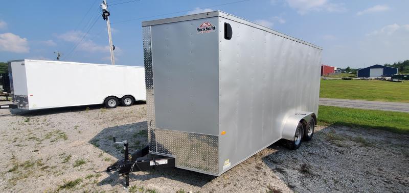 2021 Rock Solid Cargo 7' x 16 Enclosed Cargo Trailer