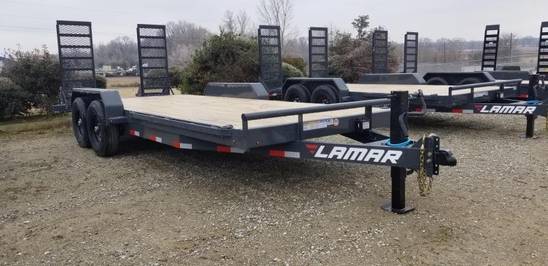 "2021 Lamar Trailers 83"" x 22' Equipment Trailer"
