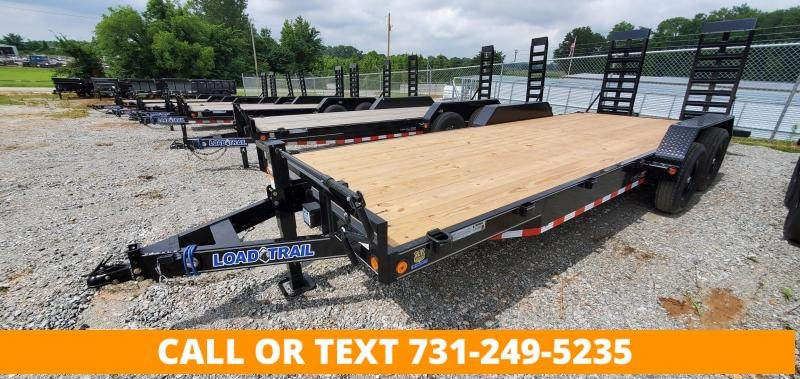 """2022 Load Trail 83""""x22' Tandem Axle Equipment Trailer with 24"""" wide ramps"""
