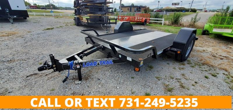 "2022 Load Trail 77""x12' Single Axle Scissor Tilt ATV Trailer"