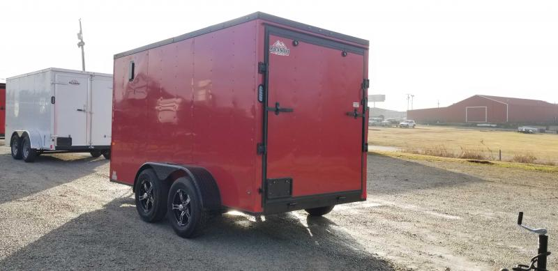 2021 Rock Solid Cargo 6' x 12' Enclosed Cargo Trailer