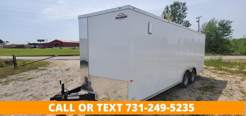 """2022 Rock Solid Cargo 8.5' x 20' Enclosed Cargo Trailer with 6"""" Additional interior height"""