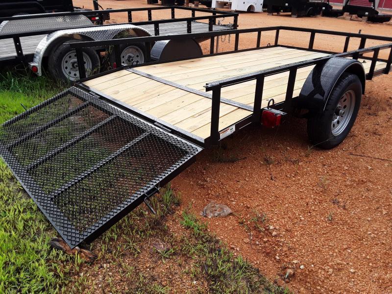 "2021 O Neal 6' 4"" X 14' 3500 lb Axle 2 foot dove 3 foot gate Utility Trailer"