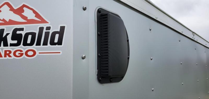 2021 Rock Solid Cargo 6' x 10' Enclosed Cargo Trailer