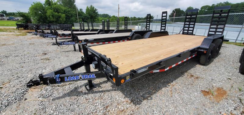 """2021 Load Trail 83""""x20' Tandem Axle Equipment Trailer with 24"""" wide ramps"""