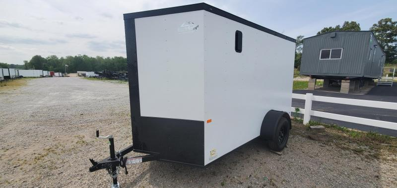 2021 Rock Solid Cargo 6' X 10' Enclosed Cargo Trailer