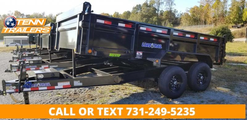 """2022 Load Trail 83"""" x 16' Dump Trailer With 2-7K Axles"""