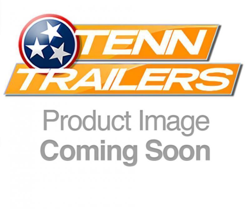 "2021 L&O Manufacturing 6'4"" x 12' Single Axle Utility Trailer"