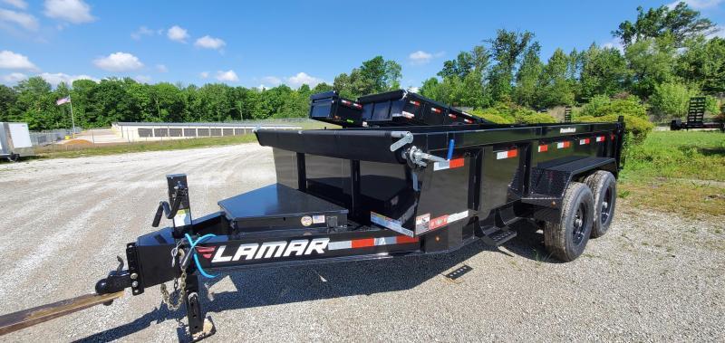 "2021 Lamar 83"" X 14' Low-pro Dump 14k"