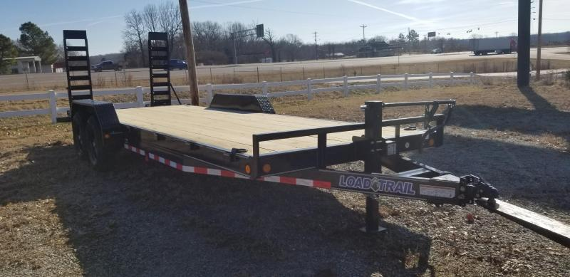 "2021 Load Trail 83"" x 22' Equipment Trailer"