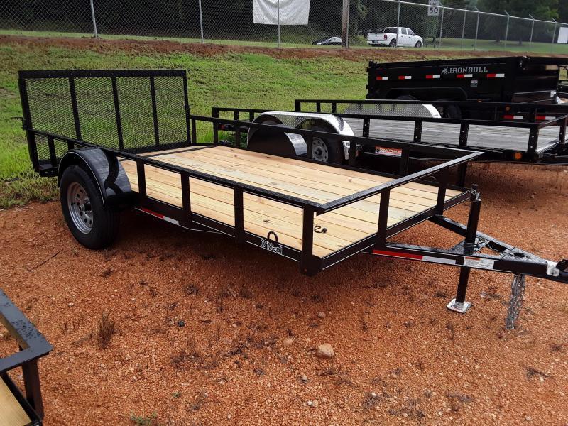 "2020 O Neal 6' 4"" X 12' 3500 lb Axle 2 foot dove 3 foot gate Utility Trailer"