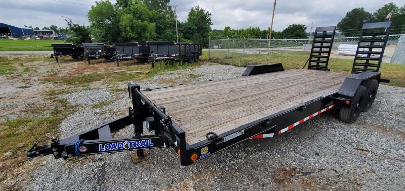 """2021 Load Trail 83"""" x 22' Equipment Trailer With 24"""" Wide Ramps and 2"""" Rub Rail"""