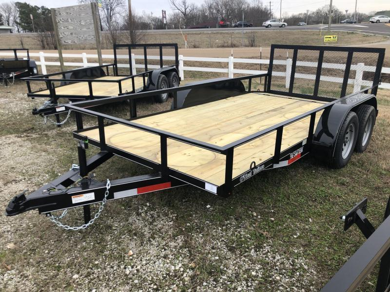 "2021 ONeal 6'4"" x 14' Tandem Utility Trailer"