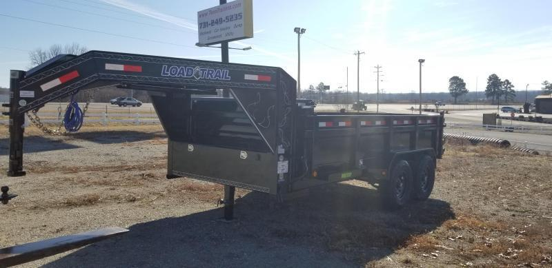 "2021 Load Trail 83"" X 14' Gooseneck Dump Trailer 8K Axles"