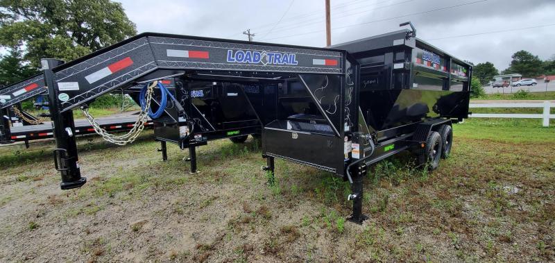 "2021 Load Trail 83"" x 14' Dumpster Trailer Combo"