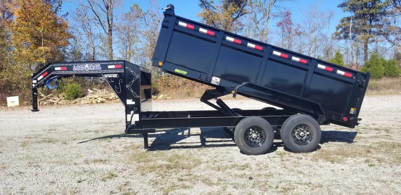 "2021 Load Trail 83"" X 14' Gooseneck Dump Trailer 36"" Sides"